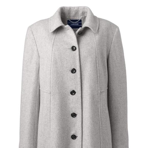 da281d824c307 Lands  End Jackets   Blazers - Lands  End Women s Plus Size Wool ...